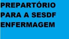 PREPARATÓRIO PARA SECRETARIA DE SAUDE DF